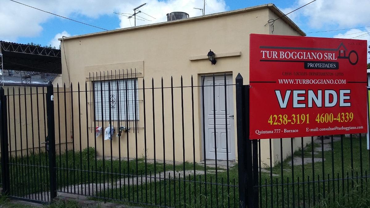 venta de casa en burzaco.