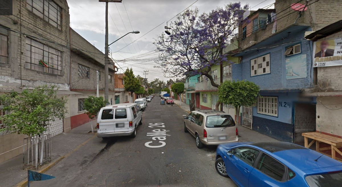 venta de casa en calle 24, col. el rodeo, iztacalco, cdmx