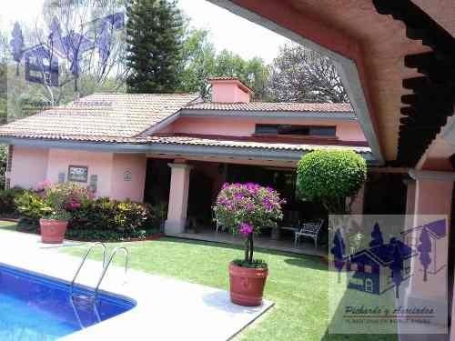 venta de casa en el club de golf tabachines en cuernavaca morelos