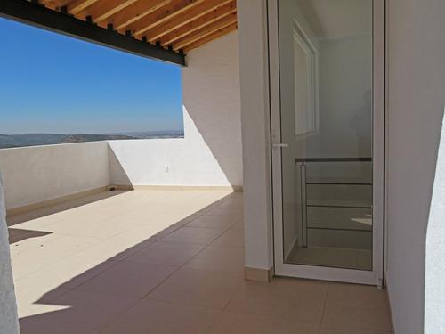 venta de casa nueva en queretaro 3 recámaras roof garden