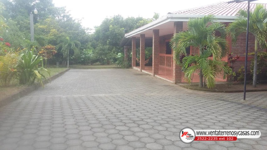 venta de casa quinta en carretera granada- masaya