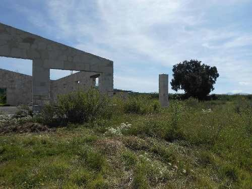 venta de casa semiterminada de cantera con 12700 m2 de terreno en san javier tolcayuca, hidalgo
