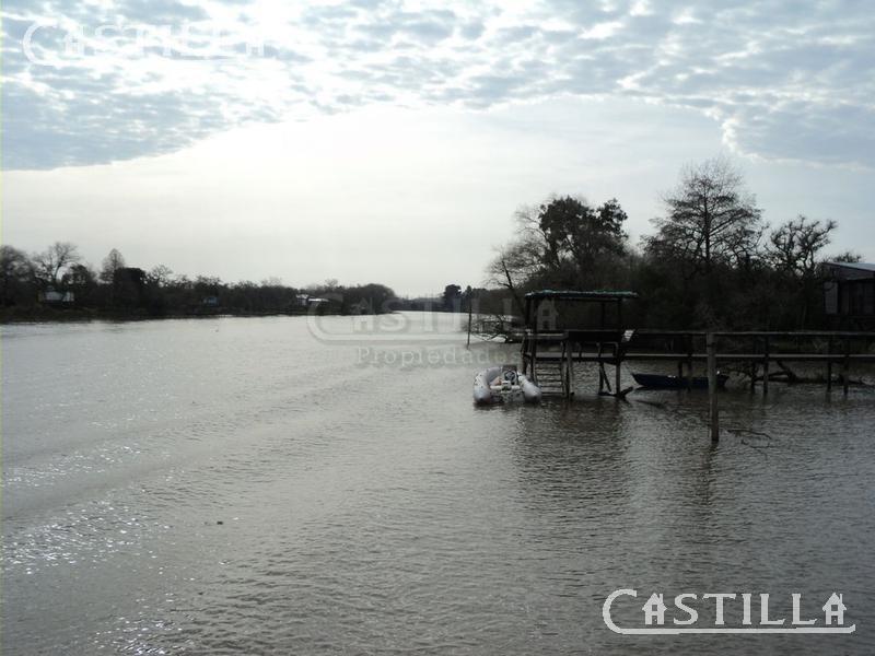 venta de casa sobre arroyo paycarabi segunda sección del delta
