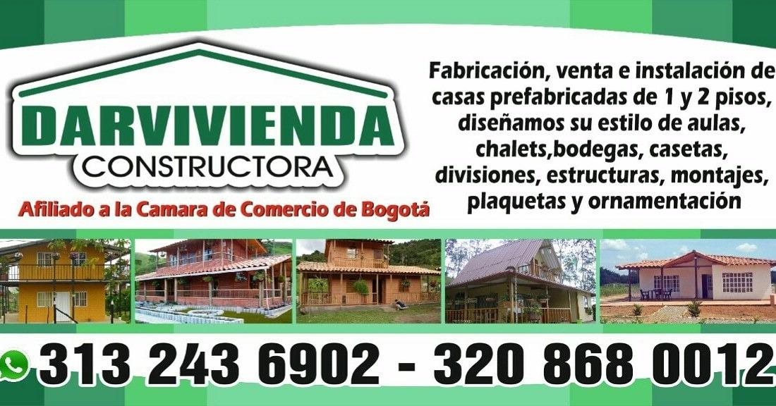 venta de casas pfefabricadas, estructuras y montajes