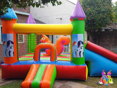 venta de castillo inflable - somos fabricantes zona oeste