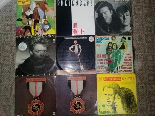 venta de  cds y vinilos de rock