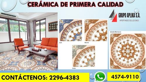 venta de cerámica de primera calidad e instalación.