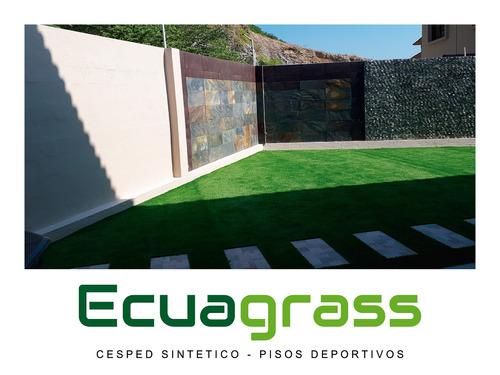 venta de césped sintético ecuagrass