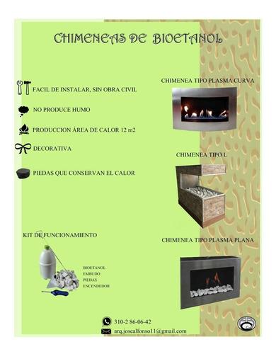 venta de chimeneas sobre diseño