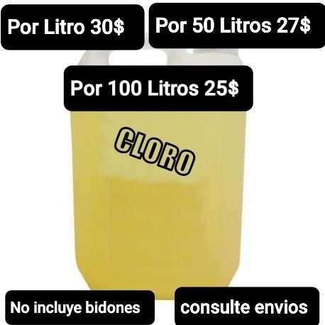 venta de cloro