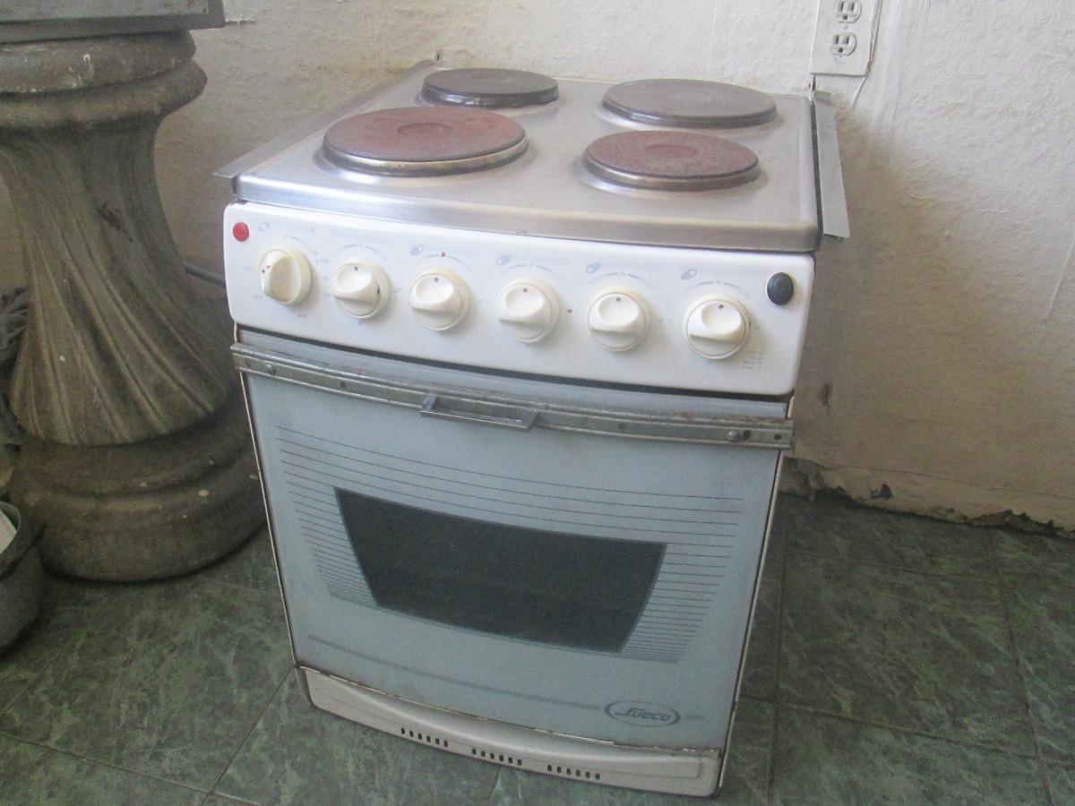 Venta De Cocina Electrica 4 Hornillas Con Horno Marca Sueco Bs