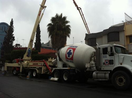 venta de concreto cruz azul - cemex - gorsa, renta de bombas