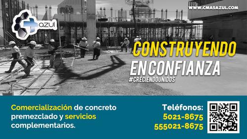 venta de concreto  renta de bombas pisos pulidos y estampado
