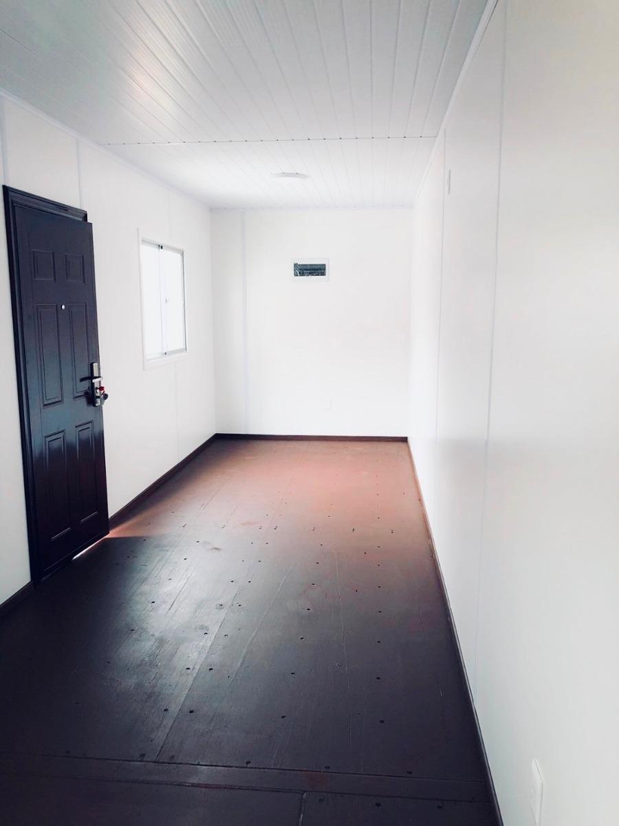 venta de contenedor casa de 40 pies - 1 dormitorio