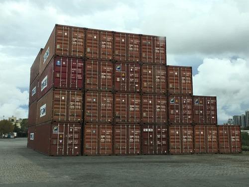 venta de contenedores marítimos usados misiones 20 pies