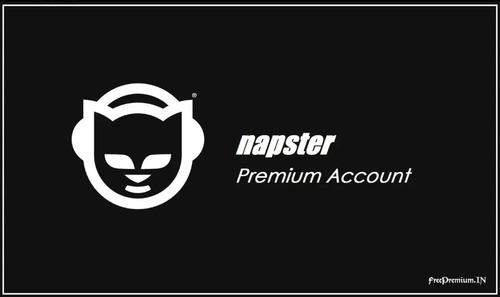 venta de cuentas tidal - deezer - napster
