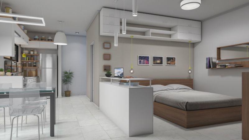 venta de departamento 1 dormitorio, la plata