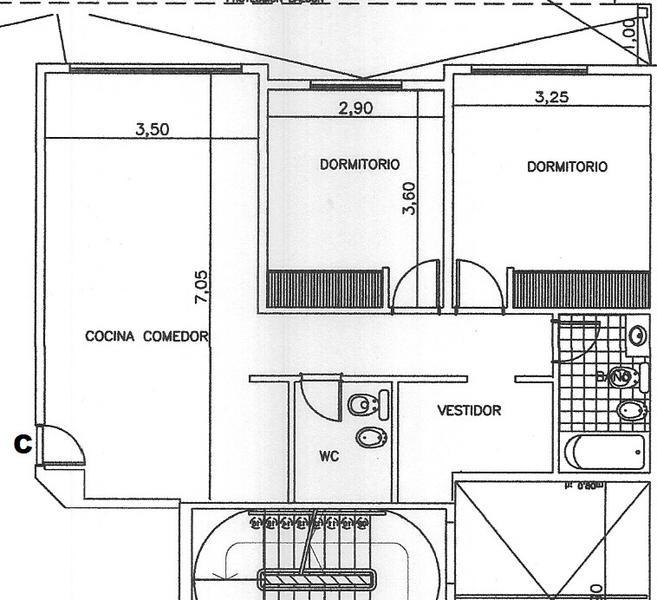 venta de departamento 2 ambientes en pozo. adrogué