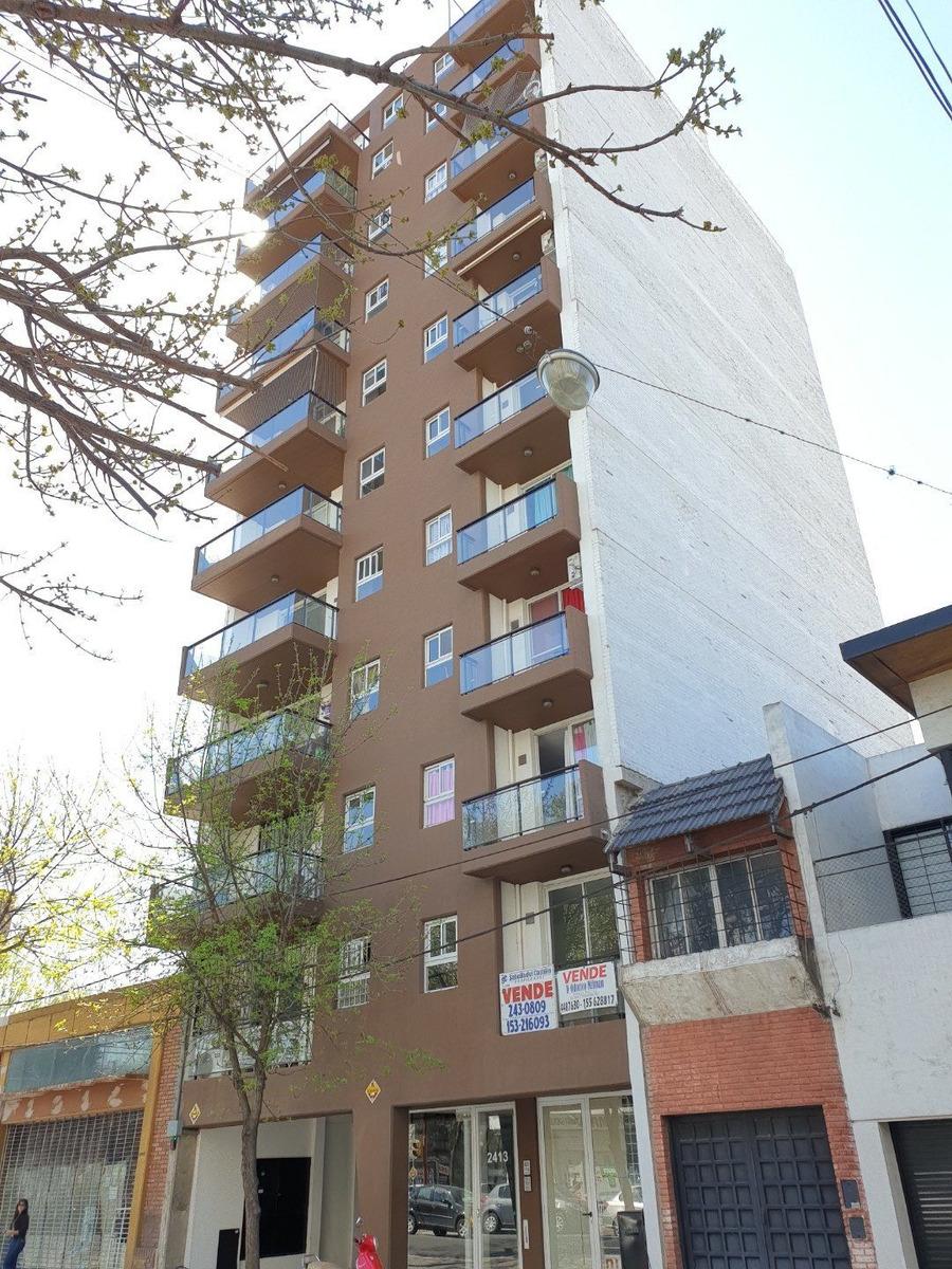 venta de departamento 2 dormitorios - balcon terraza - a estrenar - amplio y luminoso. calle alem al 2400