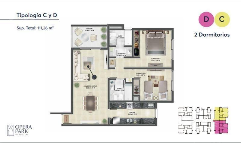 venta de departamento de 2 dormitorios en zona norte, complejo cerrado!!!