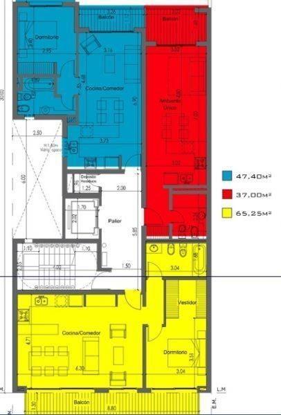 venta de departamento de 2 dormitorios, la plata.