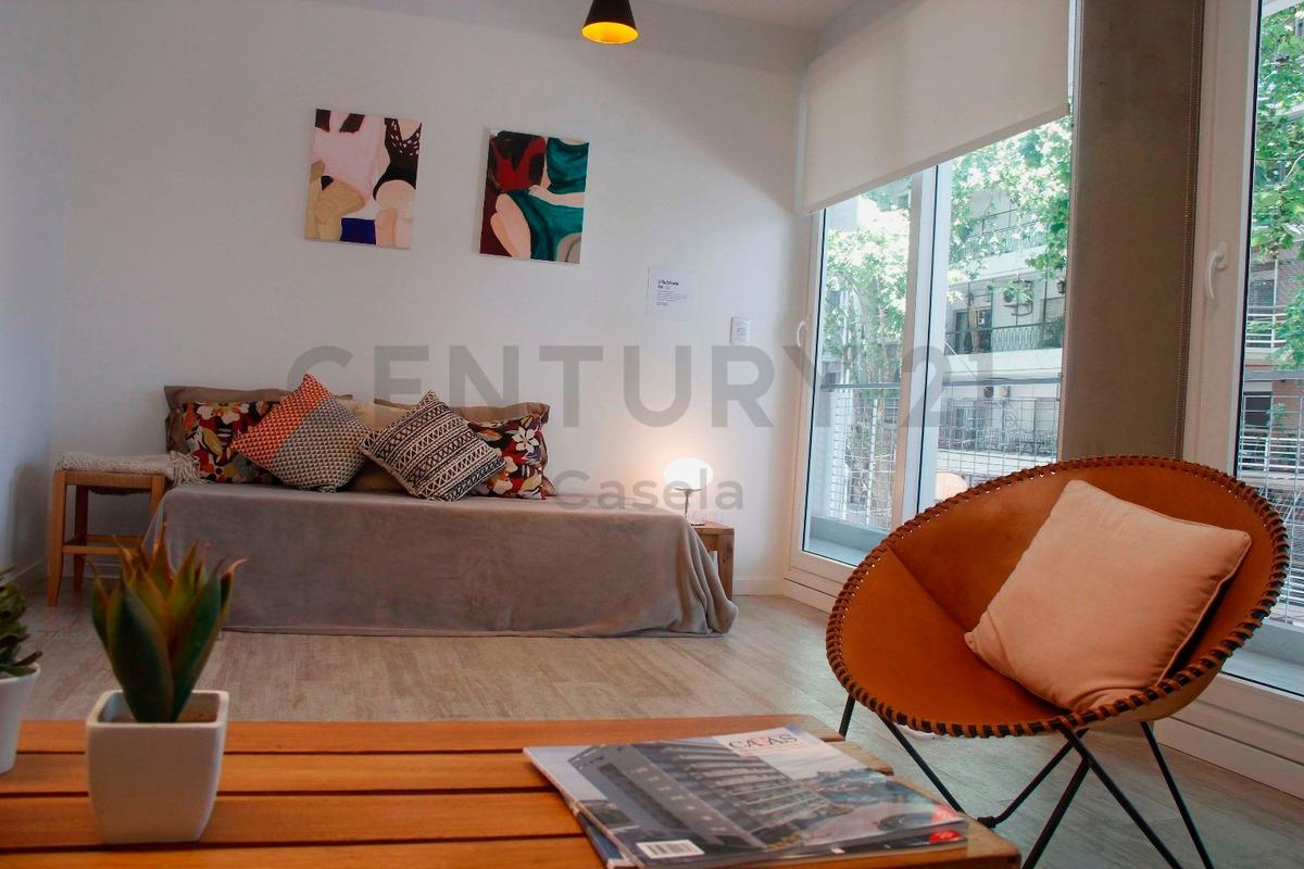 venta de departamento dos ambientes. excelente ubicación, almagro.