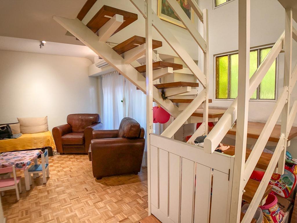 venta de departamento en belgrano con balcón y en perfecto estado