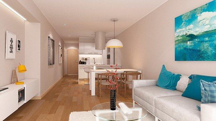 venta de departamento en calle moreno al 2300. de 1 dormitorios.