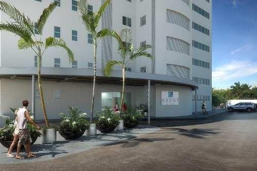 venta de departamento en cancún en  axent by isola puerto cancún