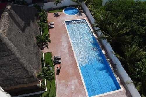 venta de departamento en cancún, zona hotelera torre laguna.