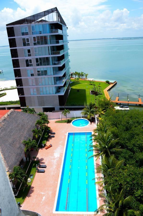 venta de departamento en torre laguna, cancún.