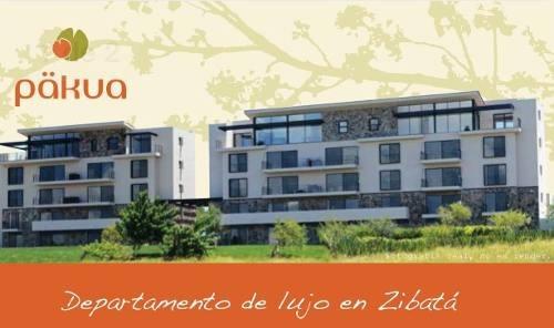 venta de departamento en zibata  pakua