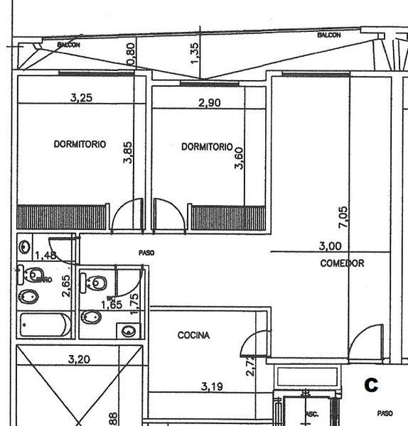 venta de departamento tipo duplex de 2 ambientes en pozo en adrogué