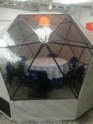 venta de domos geodésicos, para glamping