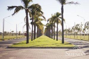 venta de dos lotes contiguos sobre avenida en tierra de sueños puerto gral san martin. terrenos de 288 m2 cada uno.