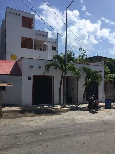 venta de edificio de 3 pisos en playa del carmen