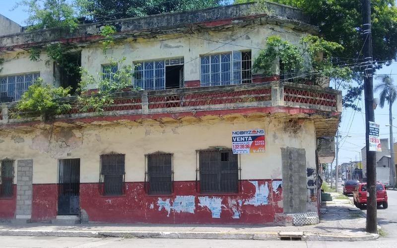 venta de edificio en tampico col. tampico centro calle general san martín esquina