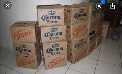 venta de envases vacíos de cerveza.
