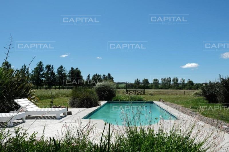 venta de excelente chacra parquizada con piscina y costa navegable al arroyo maldonado- ref: 28793