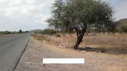 venta de excelente terreno de 1 hectareas sobre  la carretera estatal 100 km25.