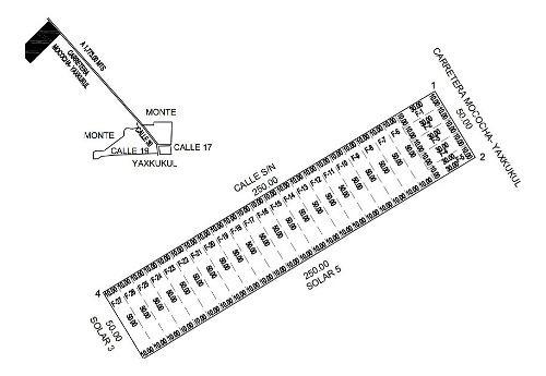 venta de excelentes terrenos cerca de la zona de yaxkukul, yucatán