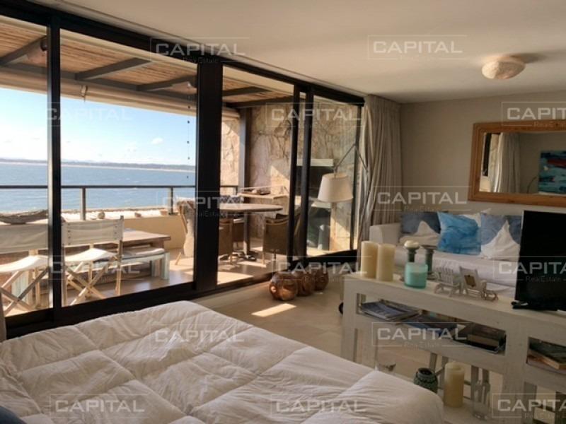 venta de exclusivo departamento en complejo de punta ballena con las mejores puestas de sol-ref:28308