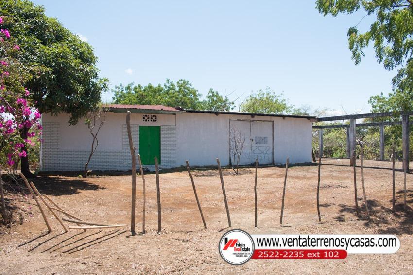 venta de finca con casa en masaya - nicaragua.