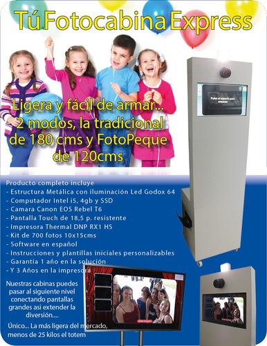 venta de fotocabinas express y asesoria controldelcolor dslr