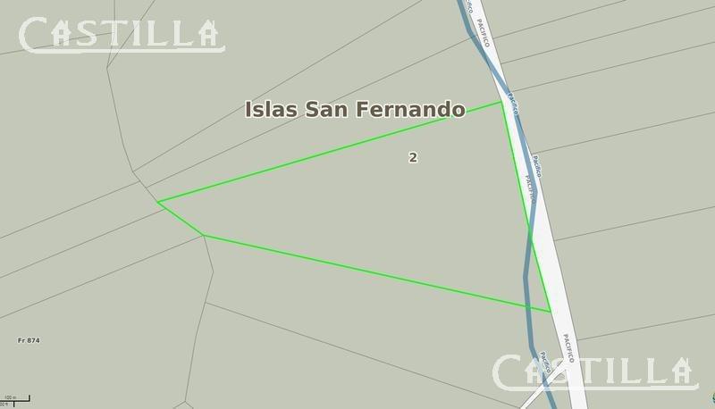 venta de fracción 16 ha en segunda seccion del delta