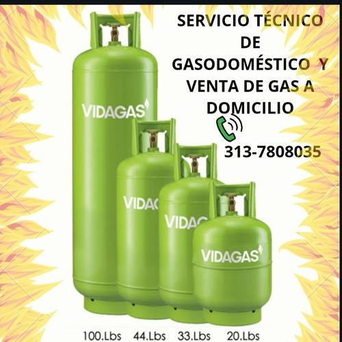 venta de gas y servicio técnico de gasodomésticos