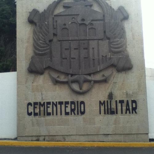 venta de gavetas en cementerio militar