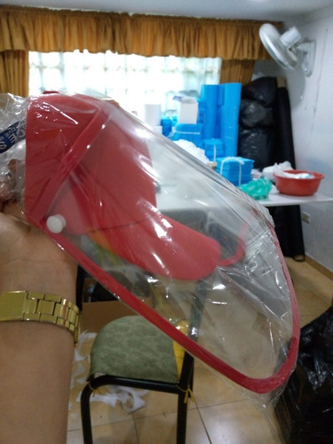 venta de gorras con careta protectora