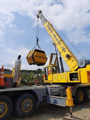 venta de grúa telescópica grove de  35 toneladas