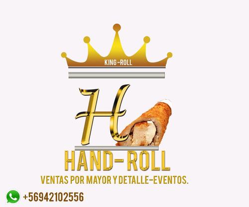 venta de hand roll por mayor, detalle y para eventos.